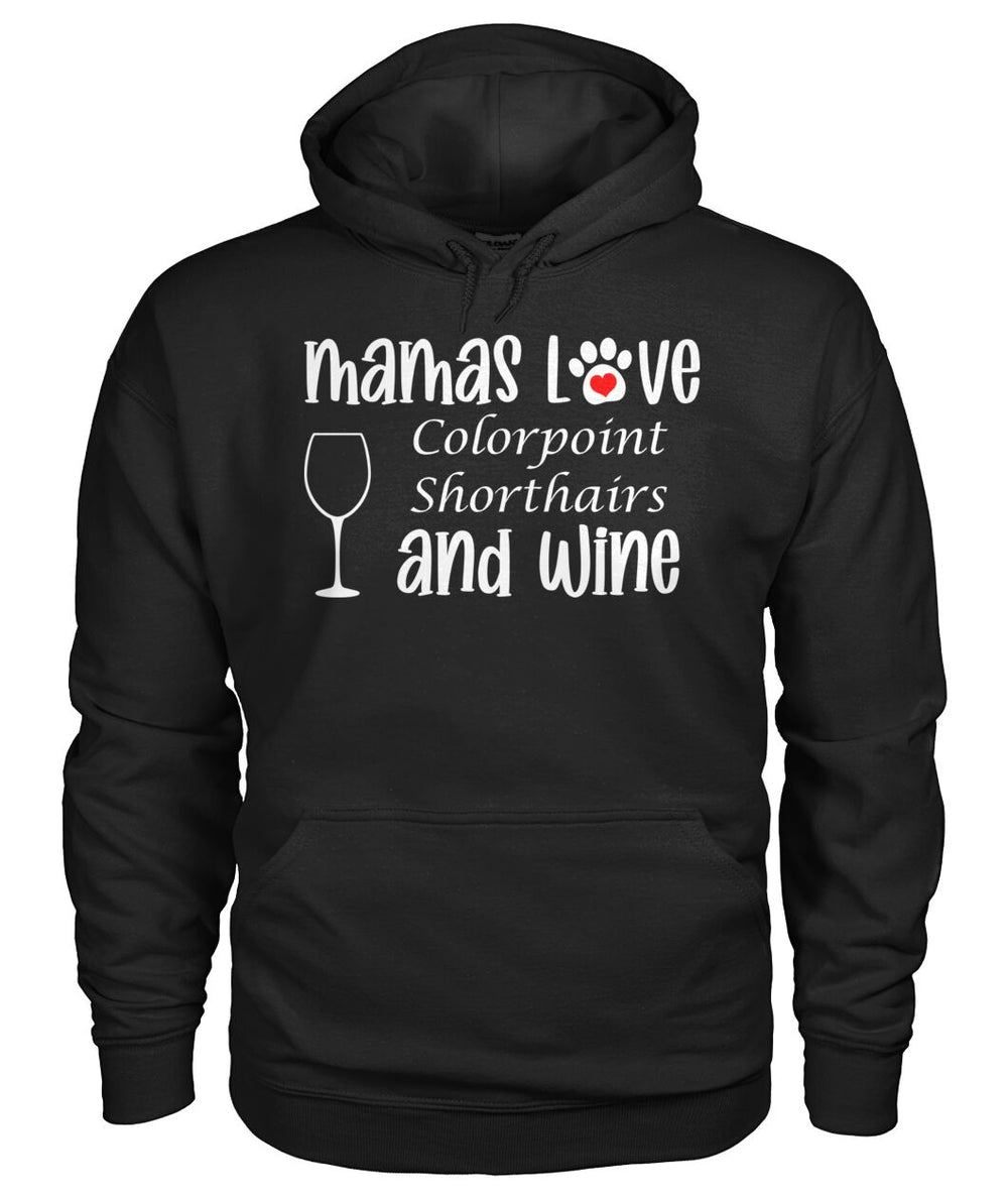 Mamas Love Colorpoint Shorthairs and Wine