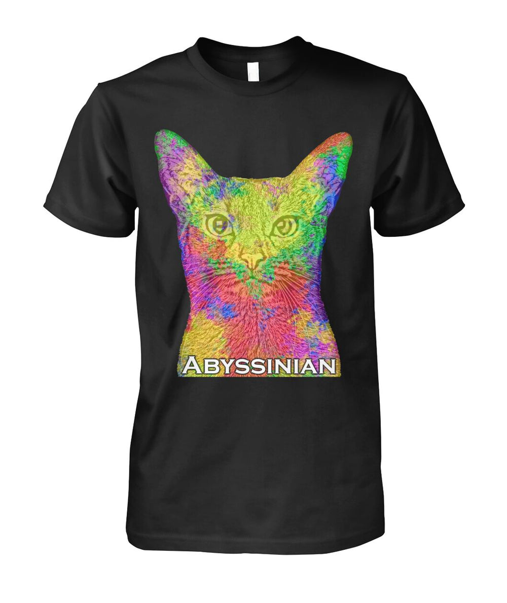 Abyssinian Watercolor Unisex T-Shirt