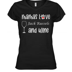 Mamas Love Jack Russels and Wine