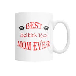 Best Selkirk Rex Mom Ever White Coffee Mug