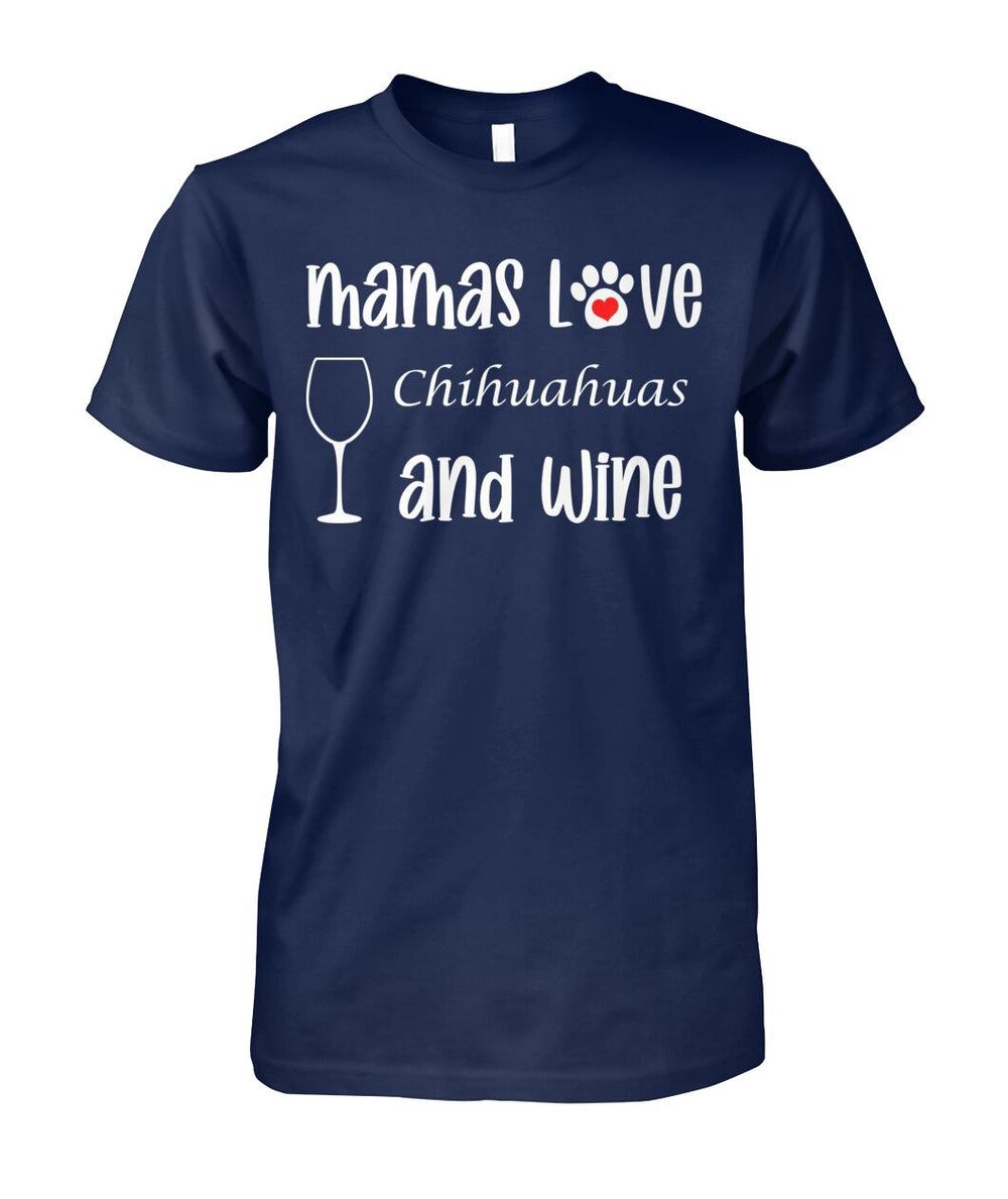 Mamas Love Chihuahuas and Wine