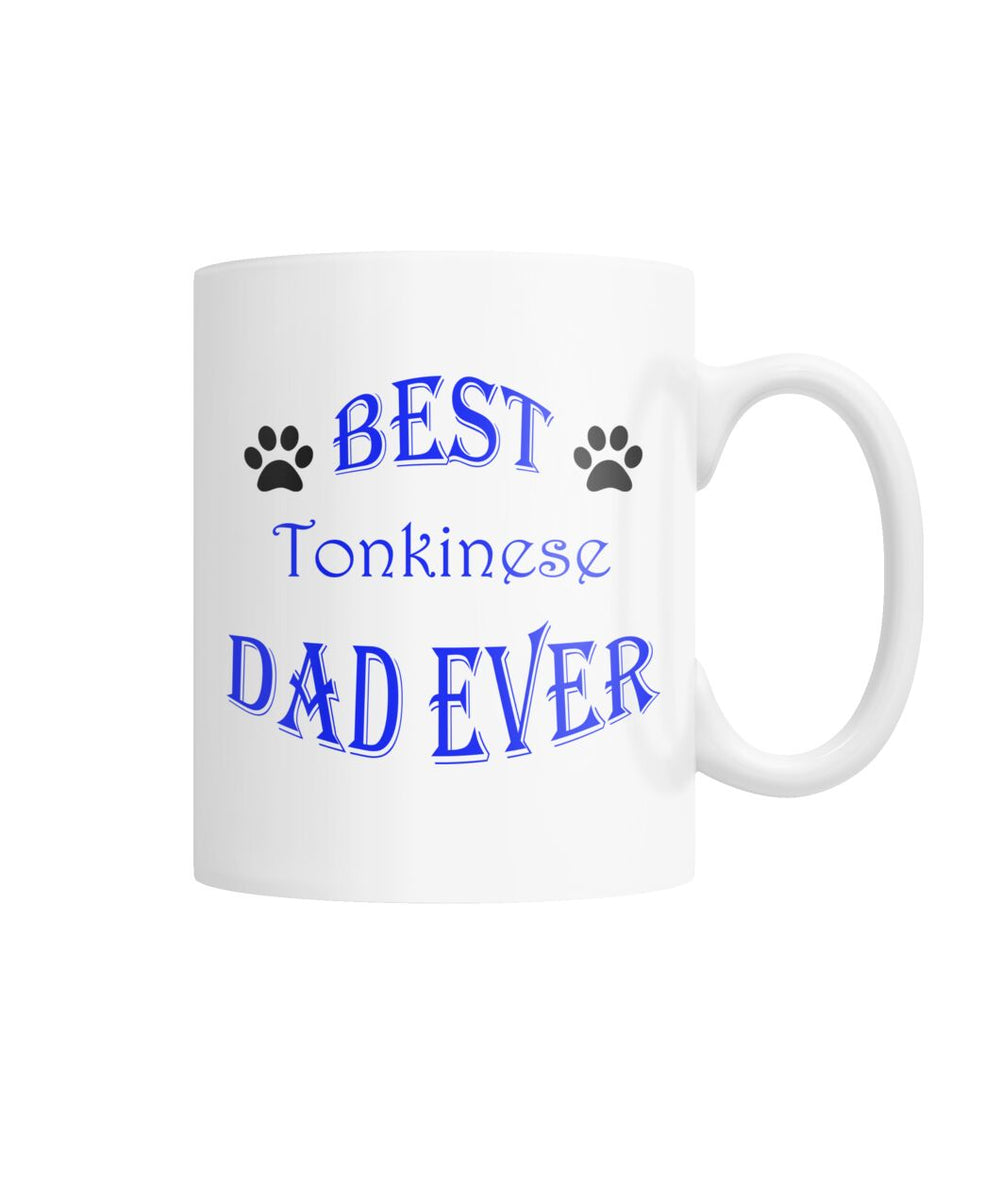 Best Tonkinese Dad Ever White Coffee Mug
