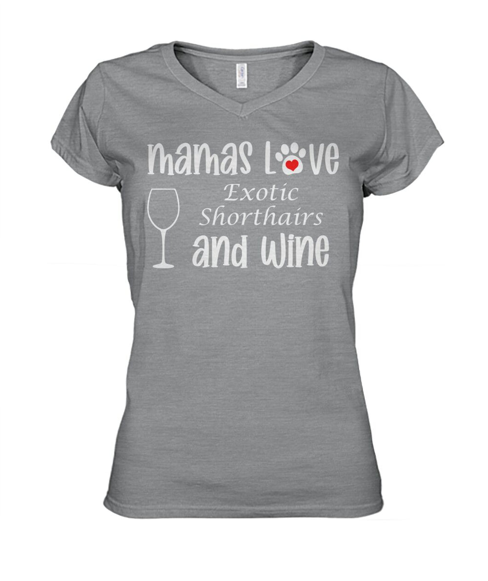 Mamas Love Exotic Shorthairs and Wine
