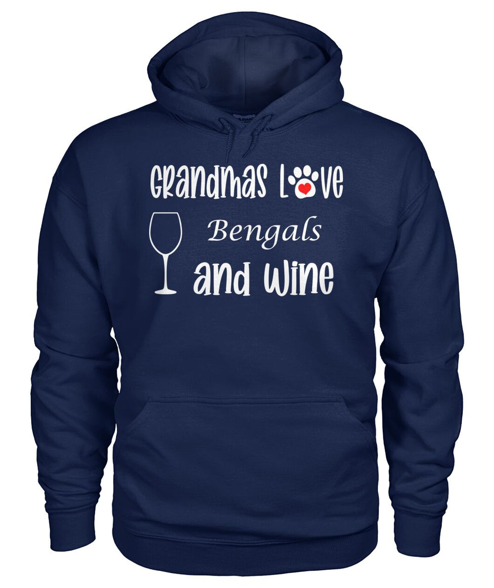 Grandmas Love Bengals and Wine