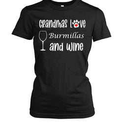 Grandmas Love Burmillas and Wine