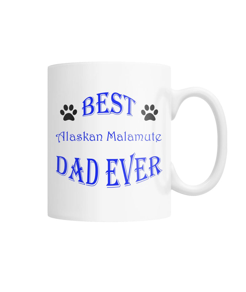 Alaskan Malamute White Coffee Mug