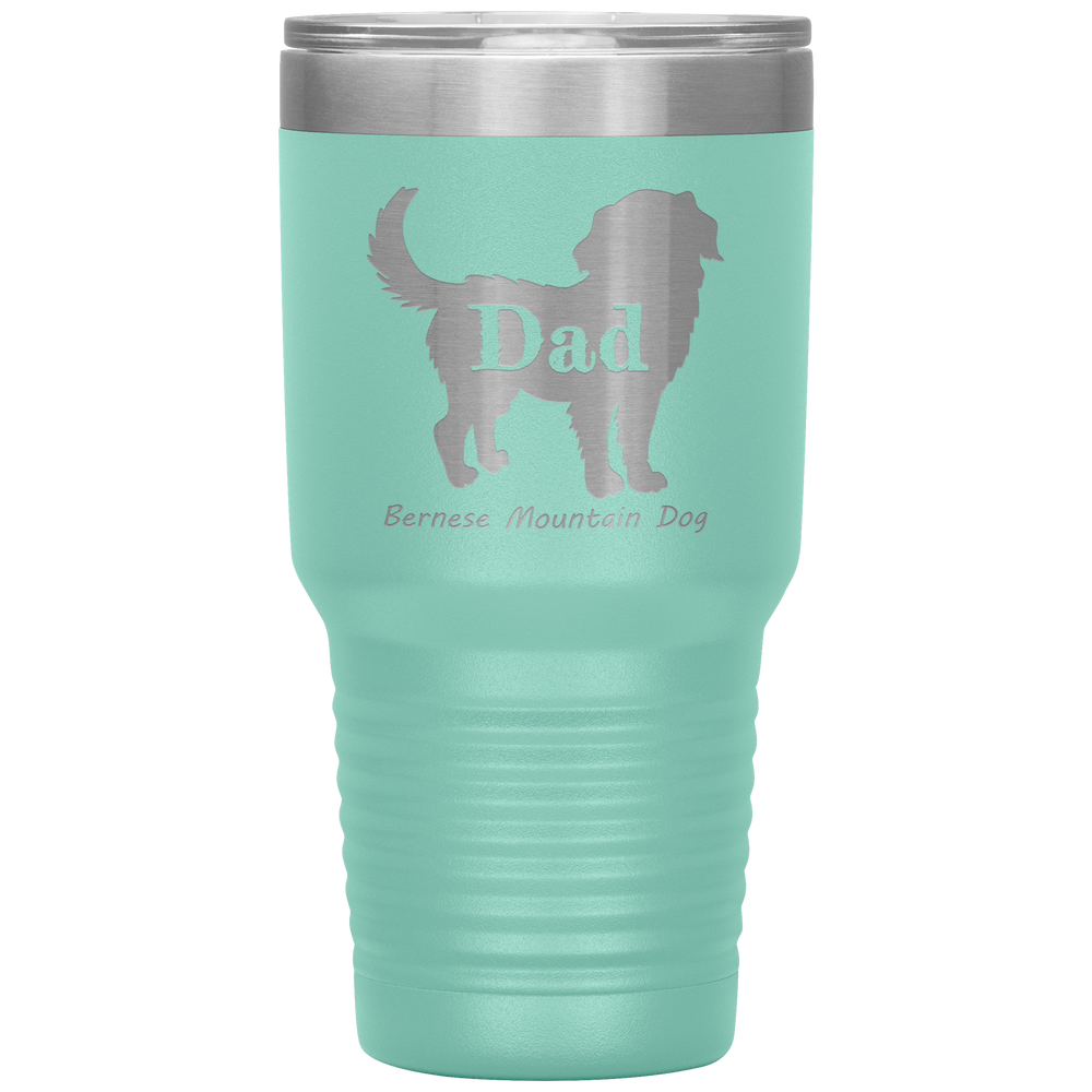 Bernese Mountain Dog Silhouette 30 Oz. Tumbler