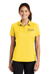 354064 Nike Ladies Dri-FIT Pebble Texture Polo (2 Colors Available)