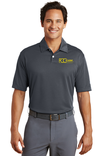 373749 Nike Dri-FIT Pebble Texture Polo (2 Colors Available)