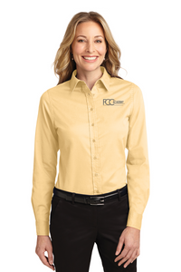 L608 Port Authority® Ladies Long Sleeve Easy Care Shirt (2 Colors Available)