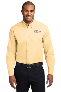 S608 Port Authority® Long Sleeve Easy Care Shirt (2 Colors Available)