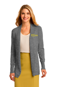 LSW289 Port Authority® Ladies Open Front Cardigan Sweater