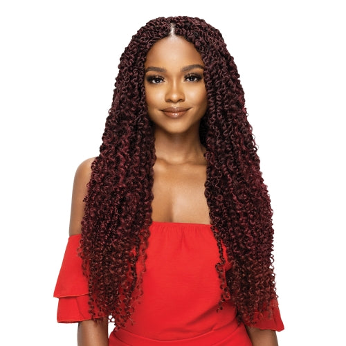 Outre Crochet Braids X-Pression Twisted Up Pre-Twisted Boho Passion Water Wave 24