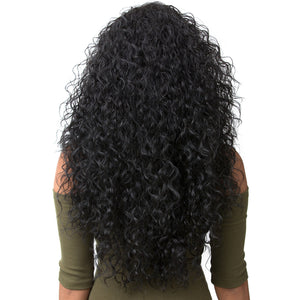 Synthetic Hair Half Wig Instant Weave Boutique Bundles Deep