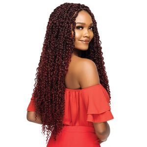 Outre Crochet Braids X-Pression Twisted Up Pre-Twisted Boho Passion Water Wave 24""