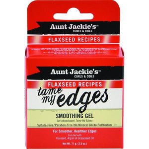 Aunt Jackie's Curls & Coils Flaxseed Recipes Tame My Edges Smoothing Gel