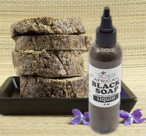 Purity Liquid African Black Soap