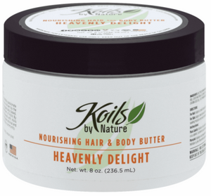 Nourishing Hair and Body Butter Heavenly Delight 8oz