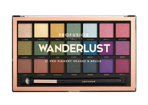 Wanderlust Palette with Pro Series Brush
