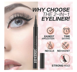 Magic Eyeliner Pen for False Lashes