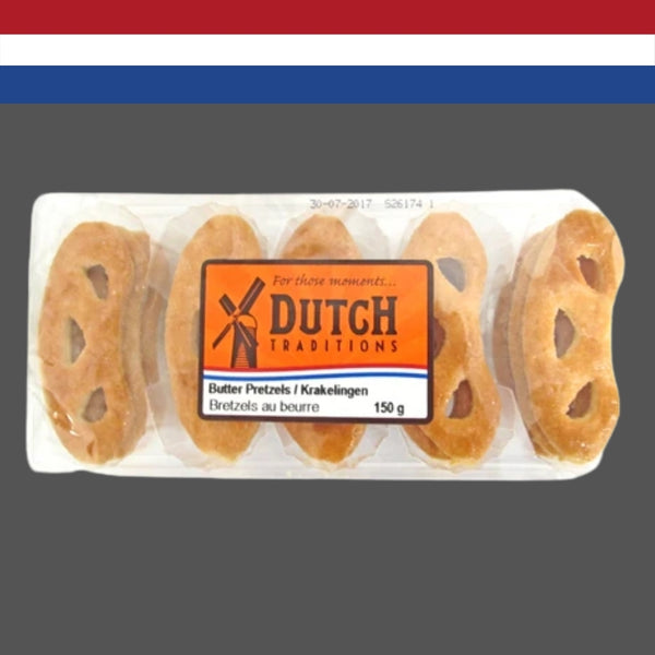 Dutch Traditions Butter Pretzels 150g
