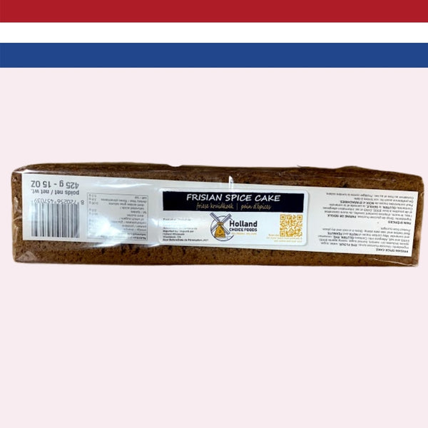 Holland Choice Foods Frisian Spice Cake 425g