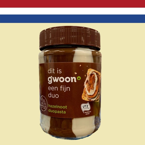 Gwoon Hazelnut Duo 400g