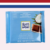 Ritter Sport Milk Chocolate with Coconut Filling