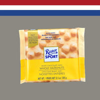 Ritter Sport White Chocolate with Whole Hazlenuts