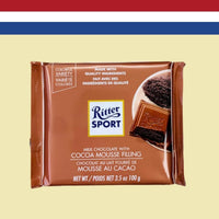 Ritter Sport Milk Chocolate with Chocolate Mousse Filling