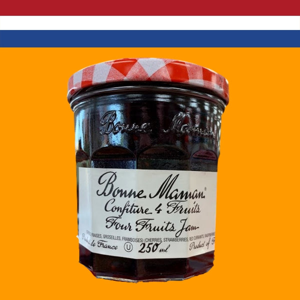 Bonne Maman Four Fruits Jam 250ml