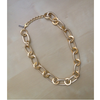 Golden Glam Chain Necklace