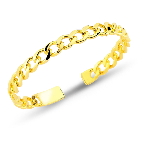 24k Gold Plated Cuff - Gold