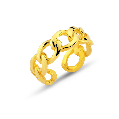 24k Gold Plated Ring - Gold