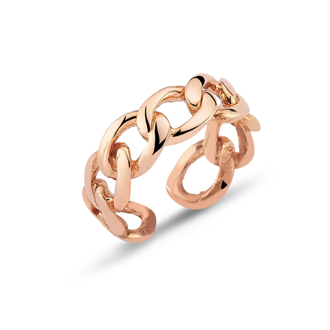 24k Gold Plated Ring - Rose