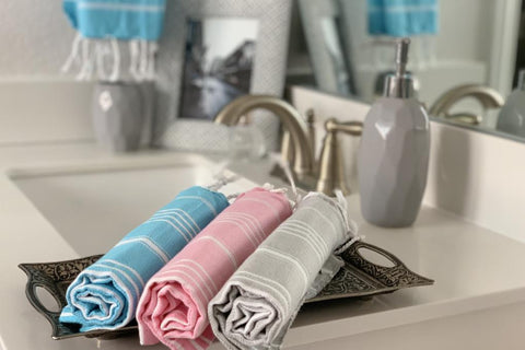 Breeze Blue Hand/Kitchen Towel