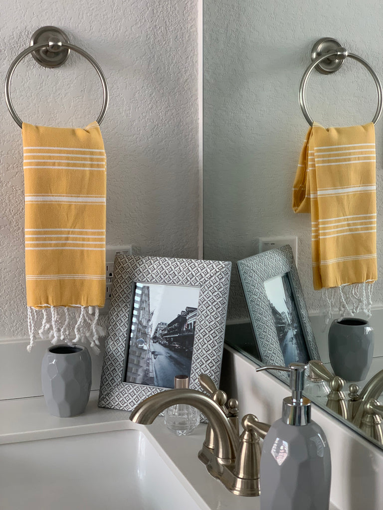 Breeze Yellow Hand/Kitchen Towel