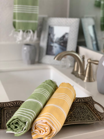 Breeze Green Hand/Kitchen Towel