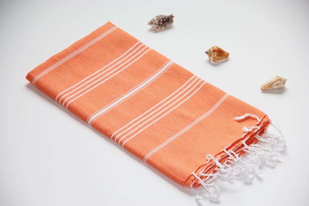 Breeze Orange Peshtemal