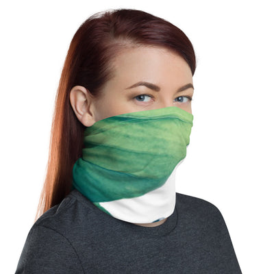 Green Leaves Neck Gaiter