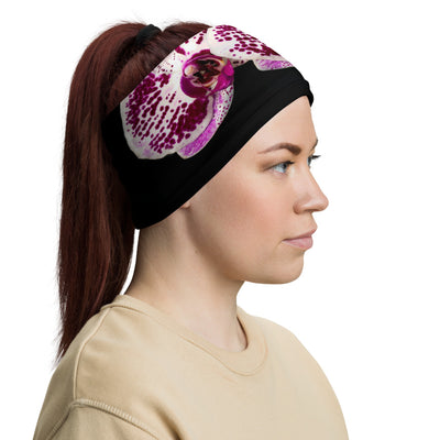 Orchid Neck Gaiter Versatile Face Covering