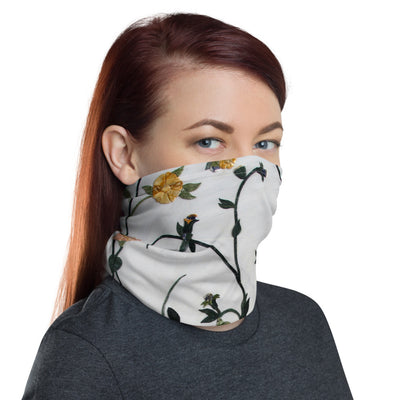 Floral Woman's Neck Gaiter Face Covering