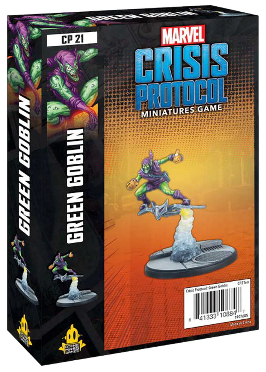 Marvel Crisis Protocol Green Goblin Accidentally Cool Games 5.0 out of 5 stars 1. asmodee