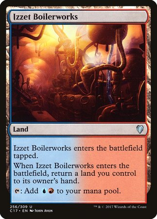 Izzet Boilerworks [Commander 2017] | Accidentally Cool Games