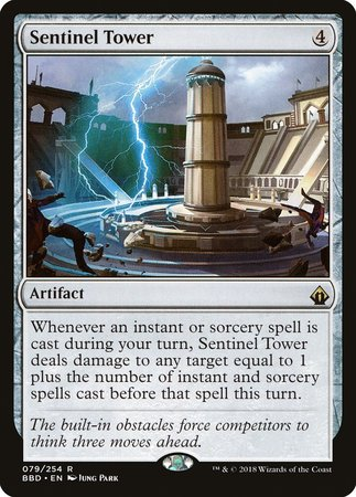 Sentinel Tower [Battlebond] | Accidentally Cool Games