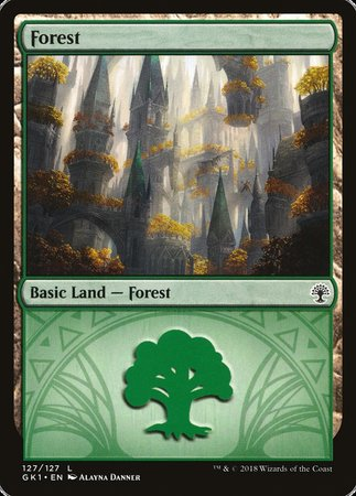 Forest (127) [GRN Guild Kit] | Accidentally Cool Games
