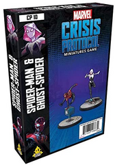 Marvel: Crisis Protocol - Spider-Man & Ghost-Spider | Accidentally Cool Games