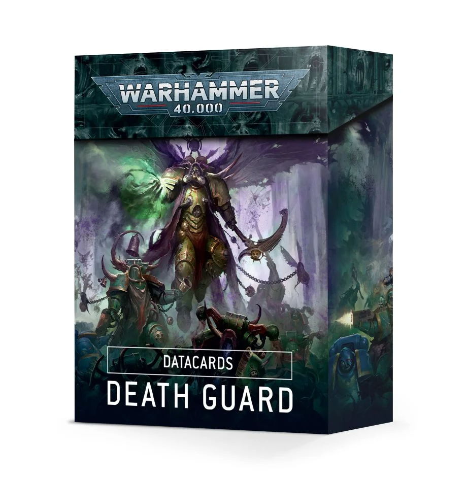 Datacards: Death Guard | Accidentally Cool Games