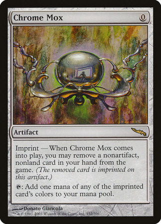 Chrome Mox [Mirrodin] | Accidentally Cool Games