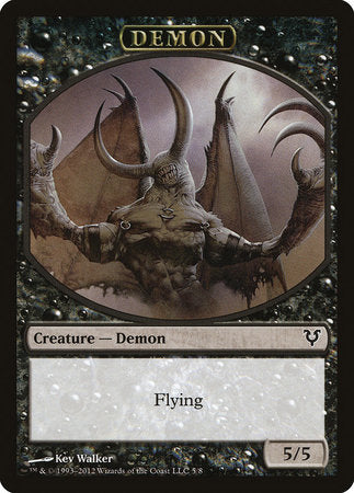 Demon Token [Avacyn Restored Tokens] | Accidentally Cool Games